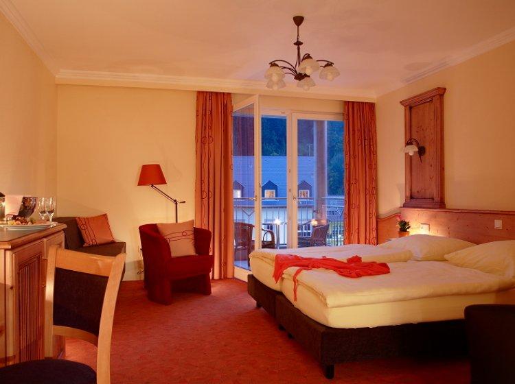 Mini Kühlschrank Für Balkon : De luxe zimmer balkon hotel belle vue vianden